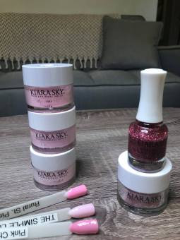 strawberry saquiri polish